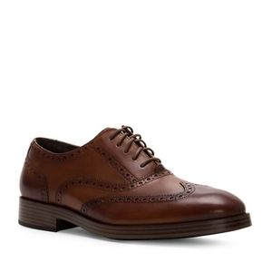 NIB Man Cole Haan brown Henry oxford shoes